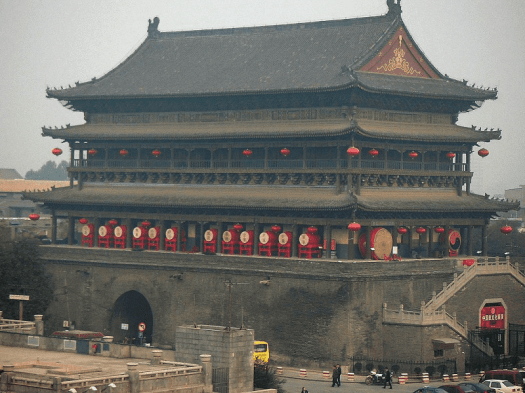 Image-of-New-China-Travel-Destination-xi-an-drum-tower-wikimedia-commons
