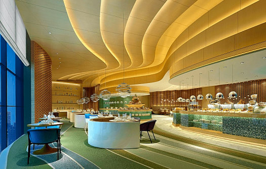 Image-of-a-restaurant-at-a-Chinese-hotel