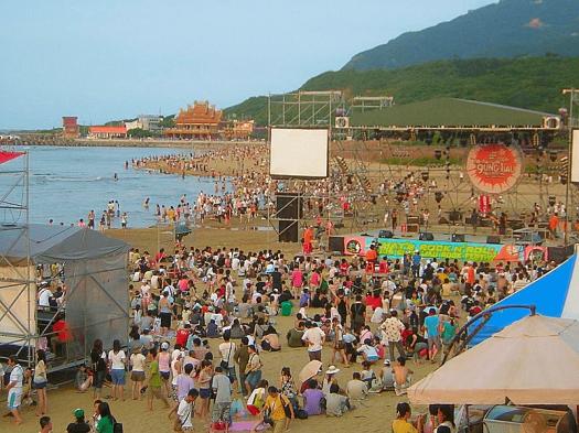 image-of-hohaiyan-rock-festival-fulong-beach-Taiwan-credit-Kasuga-Huang