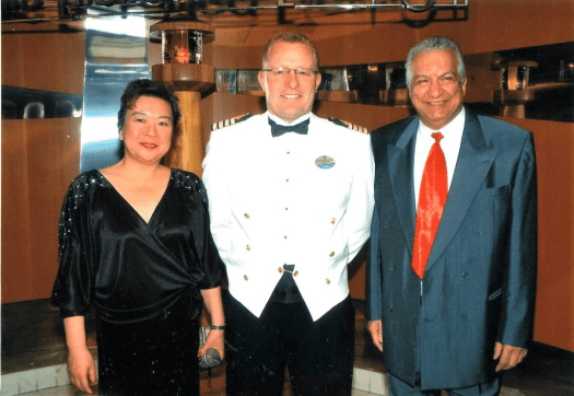 Image-of-staff-captain-and-passengers-aboard-Royal-Caribbean-lines-vessel
