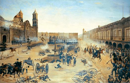 Mexico_2_de_abril_de_1867._Entrada_del_general_Porfirio_Díaz_a_Puebla