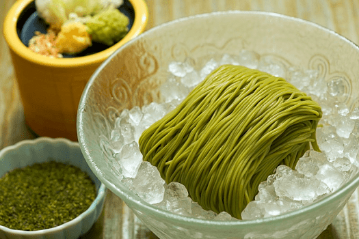 Hong-kong-food-Sagano-green-tea-Noodle-new-world-millenium-hotel