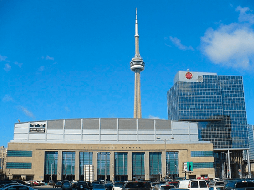 Canada-Air-Canada-Centre-on_Bay_St_and_CN_Tower
