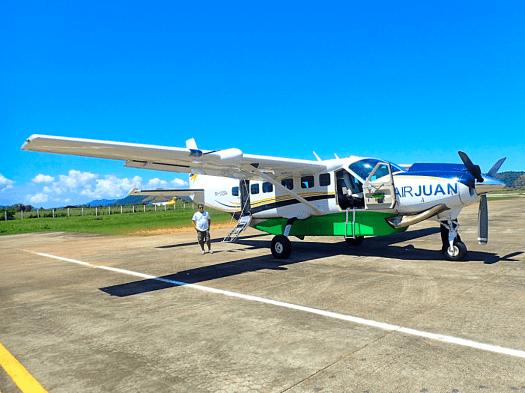 Air Juan Cessna Grand Caravan EX at Busanga Airport Coron Philippines