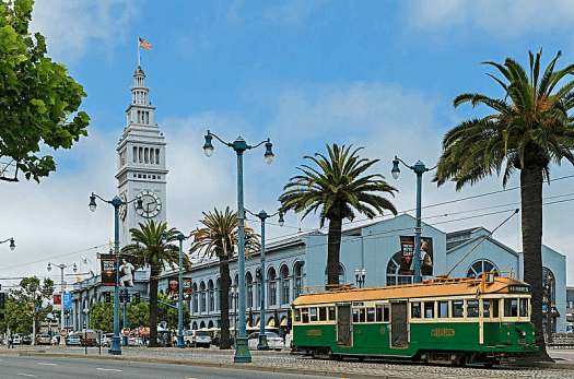San Francisco Ferry Building Photo Credit DXR