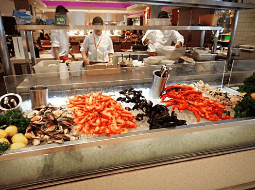 Singapore royal plaza Carousel buffet restaurant