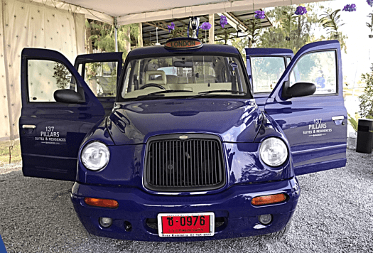 image-of-London-Cab-at-137-pillars-in-bangkok