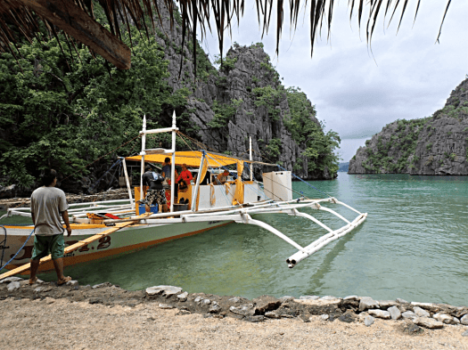 image-of-catamaran-in-coron-palawan-philippines