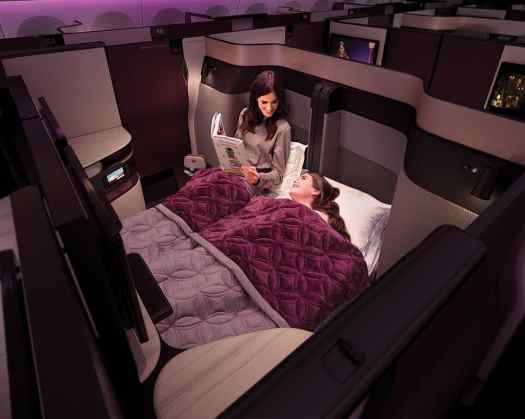 Aviation Qatar Airways Business Class_double QSuites
