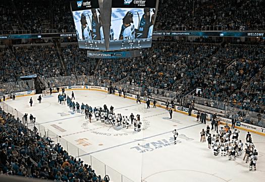 NHL_San_Jose_Sharks_and_Pittsburgh_Penguins_shaking_hands_credit_Guy-Kawasaki