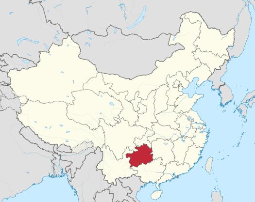 China-map-guizhou