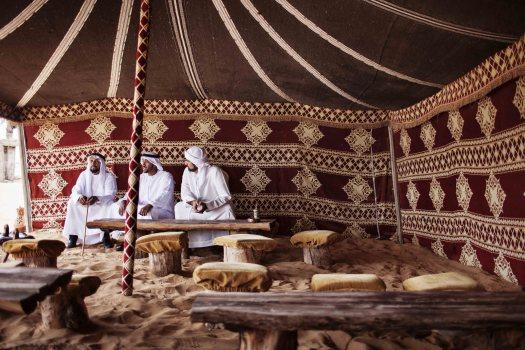 Uae-dubai-tourism-Arabic-Tent