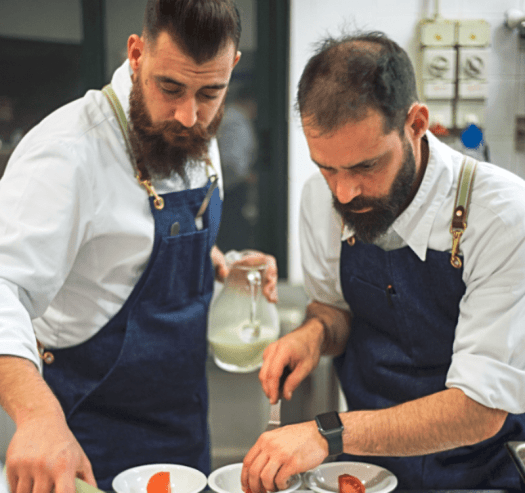 WGF Chef Christian and Manuel Costardi