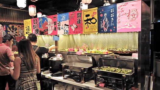 gozen-edo-japanese-restaurant-salad-bar