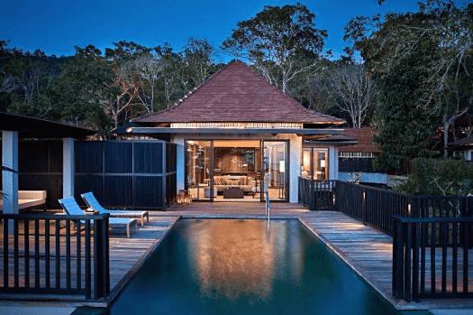 Malaysia-langkawi-hotel-The-Ritz-Carlton-beach-villa