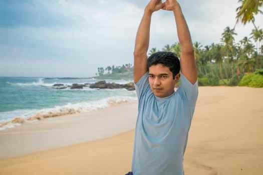 Anantara Peace Haven Tangalle - Beach Yoga