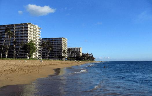 Usa-hawaii-kaanapali-beach-maui