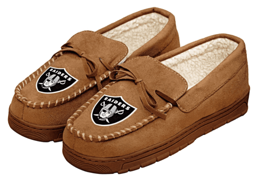 Raiders-slippers