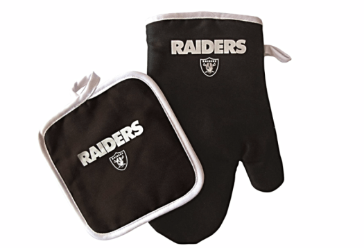 Raiders-oven-mit