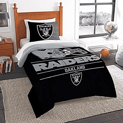 Raiders-comforter