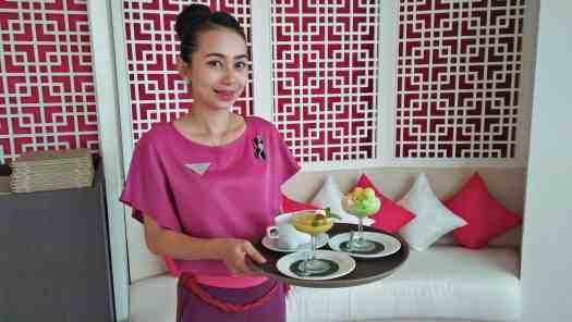 image-of-waitress-serving-chinese-dessert