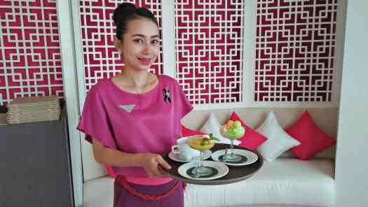 image-of-waitress-serving-chinese-dessert