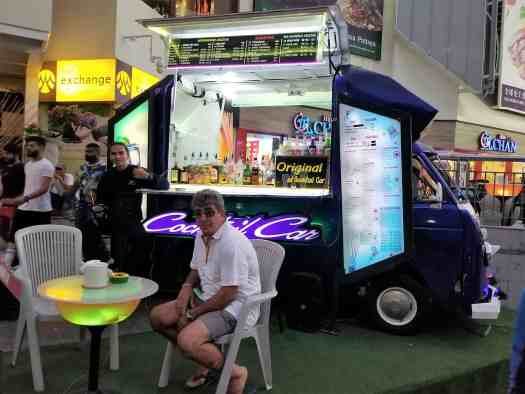 image-of-pattaya-thailand-cocktail-car-outisde-shopping-mall