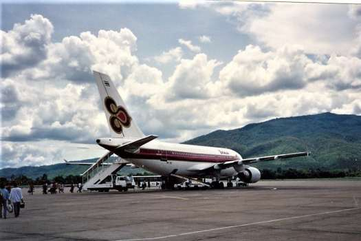 image-of-thai-airways-at-chiang-mai-international-airort