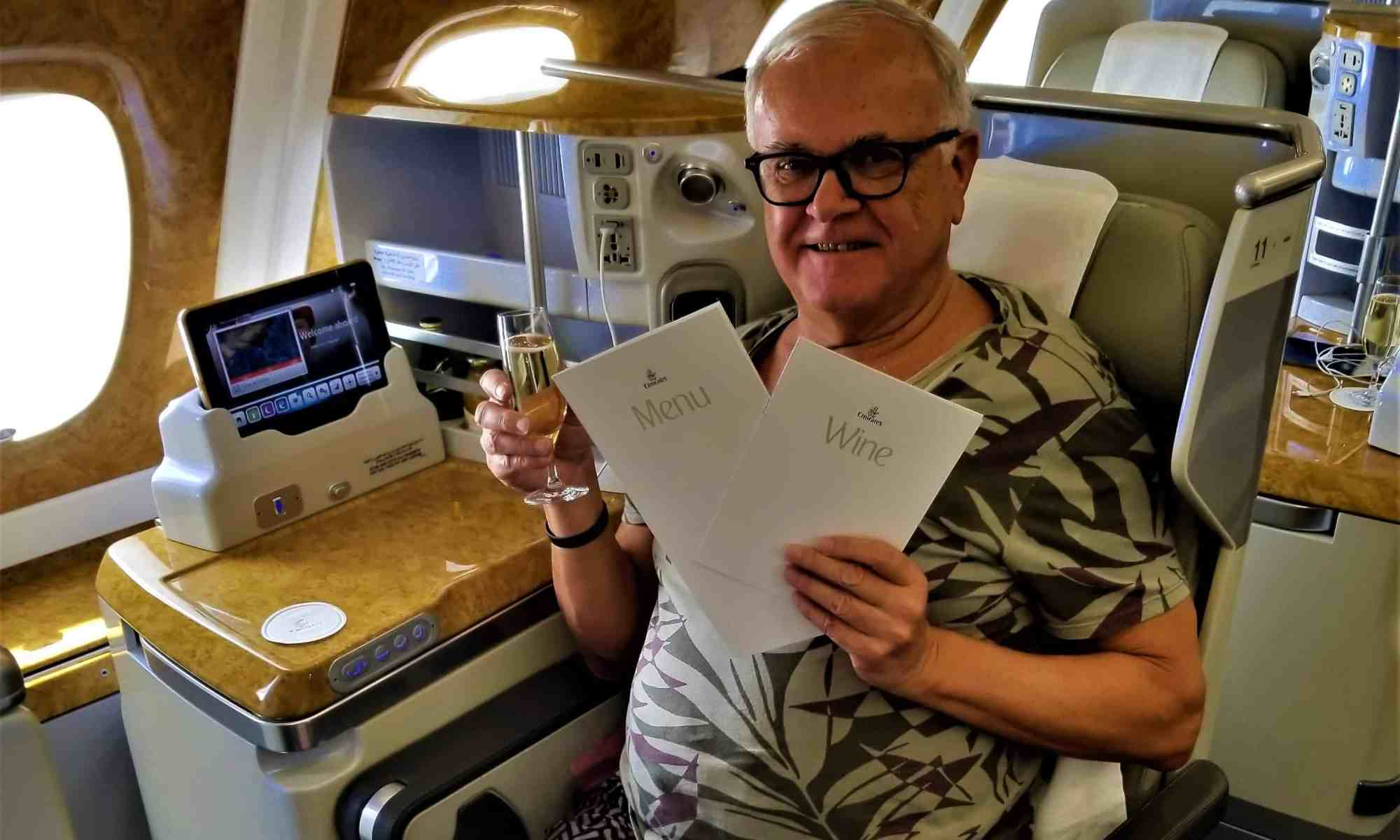 Flight Review: Emirates Airline Airbus A380-800, Bangkok