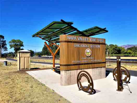 image-of-napa-valley-vine-trail-oak-knoll-rest-stop