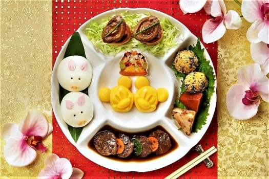 Chinese New Year Platter at Studio Lounge in Hong Kong
