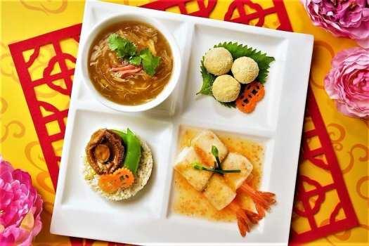 chinese new year set menu at world of color restaurant