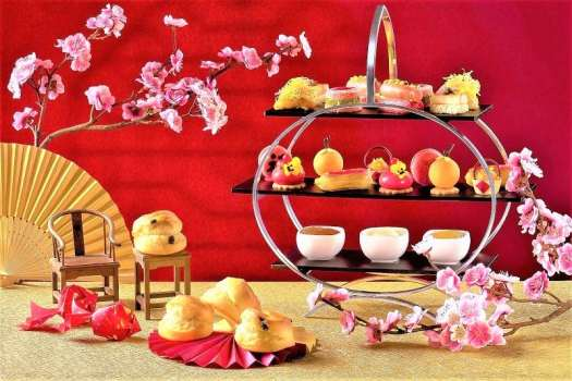cny-hong-kong-intercontinental-lobby-lounge-chnese-afternoon-tea-set