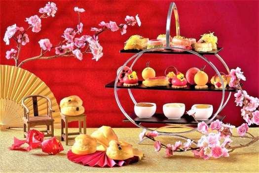 cny-hong-kong-intercontinental-lobby-lounge-chnese-afternoon-tea-set