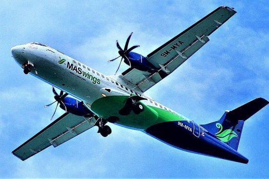 MASWings-ATR_72-600-flying-over-kota-kinabalu-airport