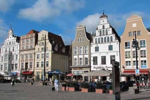 market-in-rostock-germany