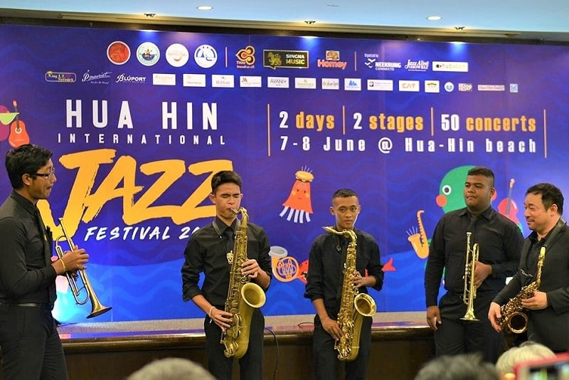 Hua Hin Jazz Festival Press Conference
