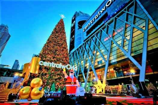 thailand-bangkok-centralworld-christmas decorations