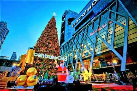 thailand-bangkok-centralworld-christmas decorations