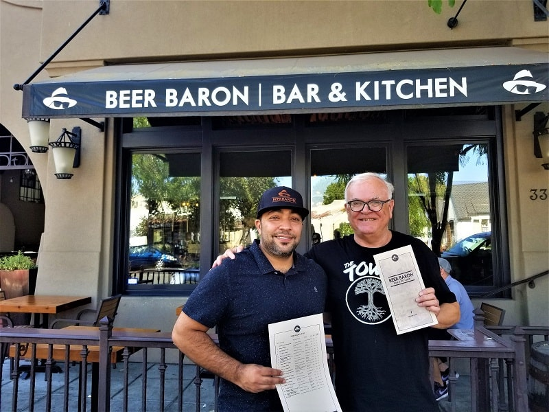 Beer Baron Pleasanton Review Craft Beers In The Tri Valley Area Accidental Travel Writer