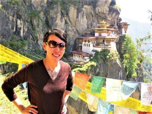 traveler-at-Tiger's-Nest-Bhutan