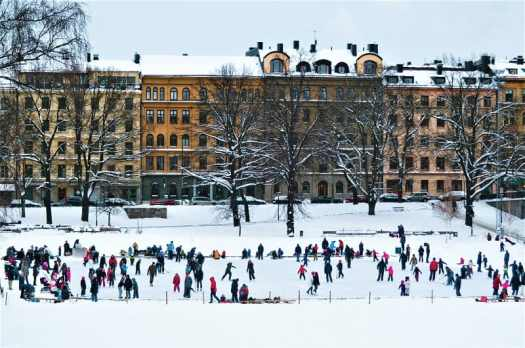 ice-skating-is-popular-in-sweden-in-january
