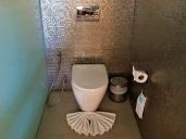 Enclosed toilet. Photo Credit: Accidental Travel Writer.