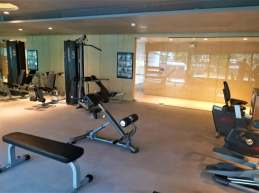Fitness room equipment. Photo Credit: Accidental Travel Writer.
