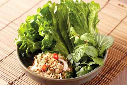 bamboo-thai-Spicy-Minced-Pork