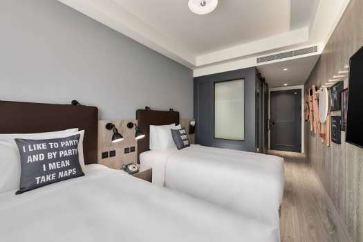 taichung-moxi-twin-guest-room