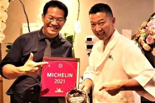 celebrating-Michelin-star