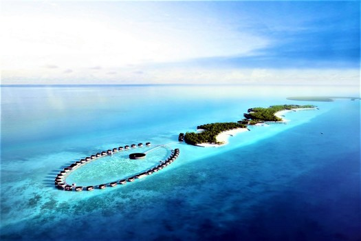 aerial-view-Maldives-Ritz-Carlton Fari-Islands-
