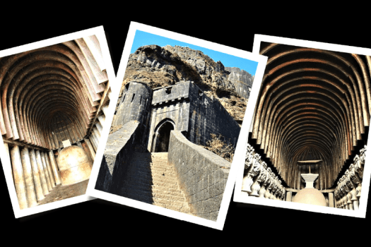 karla cave, logagad fort, and bhaja cave