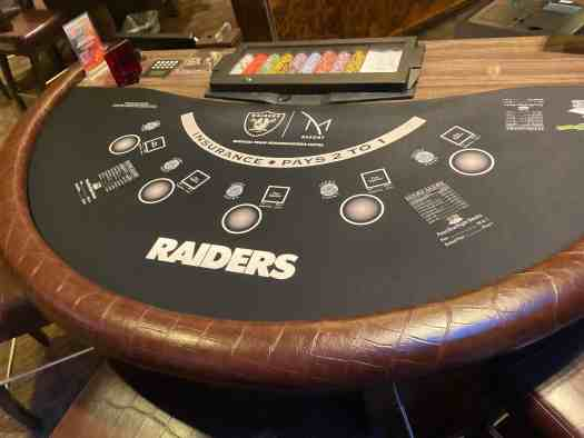 official-raiders-casino-blackjack-table
